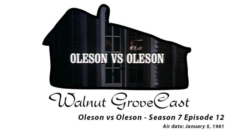 Oleson vs Oleson