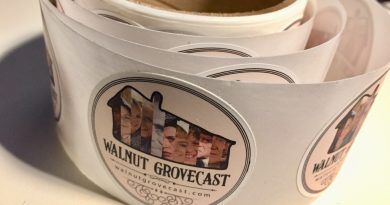 Walnut GroveCast Stickers are here!